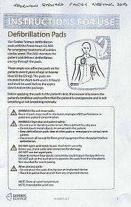 Information about Defibrillator Pads