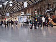 Via Newcastle Central to York