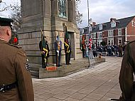 Remembrance Parade Gateshead 2014