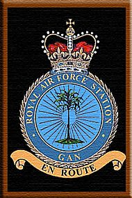 RAF Gan as it is now