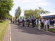 Parade Forming up