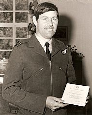 Mike Graham - Queen's Commendation 1982