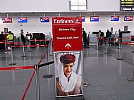 Return to Gan  2013 started from Newcastle International Airport via Emirates (Dubai)