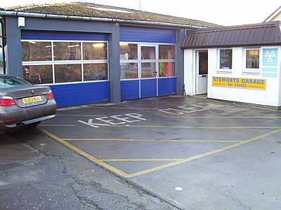 stewarts garage (dunoon) ltd