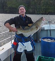 Scrabster 18 lb 2 oz cod