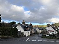 We are located at the 'crossroads' at the A82