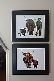 Jessica Stafford Cameron framed prints