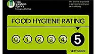 We have the highest hygiene grade achievable and are food hygiene qualified