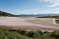 Sand Bay near Applecross looking towards Skye