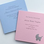 baby celebrations seed cards