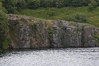 urswick limestone at overhead quarry
