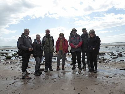 wgs members on st bees trip