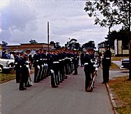 Series of pictures from the Passing Out Parade