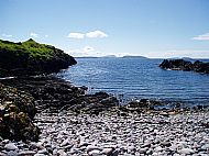 bay at gylen castle, kerrera