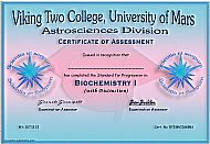 Viking Two College Certificate
