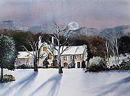 Frosty Moonlit Night