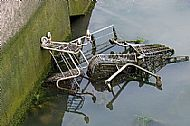 Abandoned Shopping Trollies