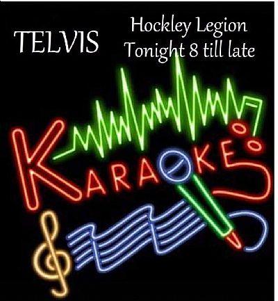 karaoke telvis poster