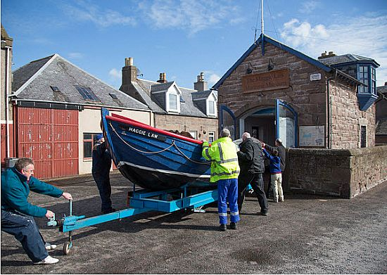 lifeboat returns to museum