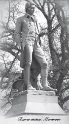burns statue, montrose, angus