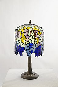 Tiffany CR10 Wisteria table lamp
