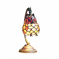 Tiffany PMOWL2/AMBER hanging owl lamp