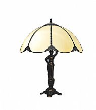 Tiffany RB12 pear table lamp