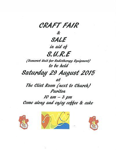 puriton craft fair & sale