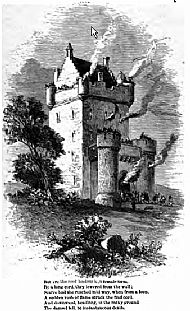 Depiction of early Douglas Castle