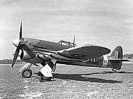 Hawker Typhoon Crash