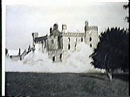 DOUGLAS CASTLE DURING DEMOLITION