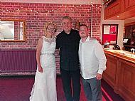Claire & Andrew Davisons Wedding reception