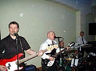 Col (left) in Steve Love Band 2004 @ Pembrooke Lodge in London