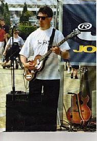 Sponsored gig @ Yorkshire Outlet Shopping Precinct 1996
