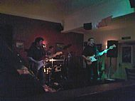 Playing at The Horse & Groom in Doncaster with a specially reformed Rock-It 3!