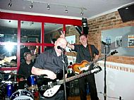 with Steve Love Band @ The Regent Hotel 2004!