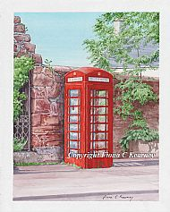 CROMARTY TELEPHONE BOX