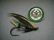 Cameronians winged Salmon fly
