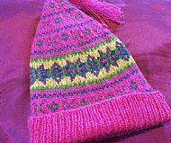 Pink Shetland Hat