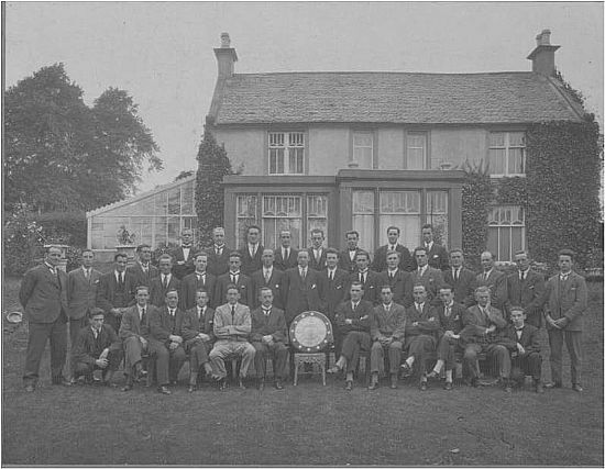 lmvc taken outside netherhouse in 1928