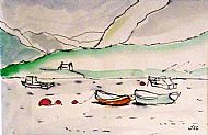 Boats on the Loch