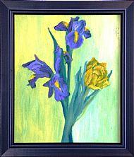 Iris and Tulip