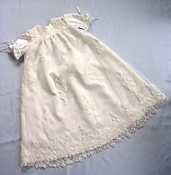 Tom's Christening gown