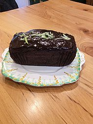 1 G Chocolate Courgette Loaf