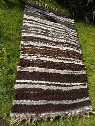 peg loom fleece rug