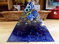 resin pyramid