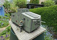 1/16 WW1 German A7V Tank Diorama