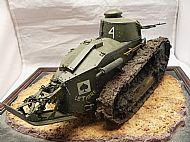 French 1/16 Scale FT-17 Light Tank