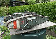 1/16 WW1 British Mark IV Male Tadpole Tank Diorama