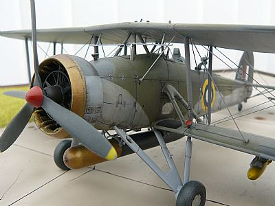 british fairey swordfish mark ii torpedo bomber 1/48 scale model aircraft